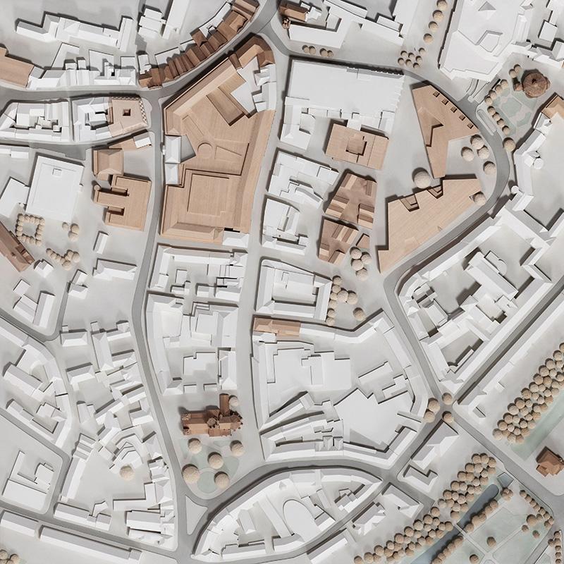 Münster Modell - Platte E5 (Ludgeriviertel) - Foto: Roland Borgmann