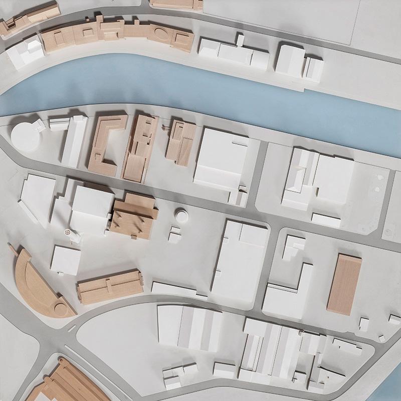 Münster Modell - Platte G7 (Hafen) - Foto: Roland Borgmann