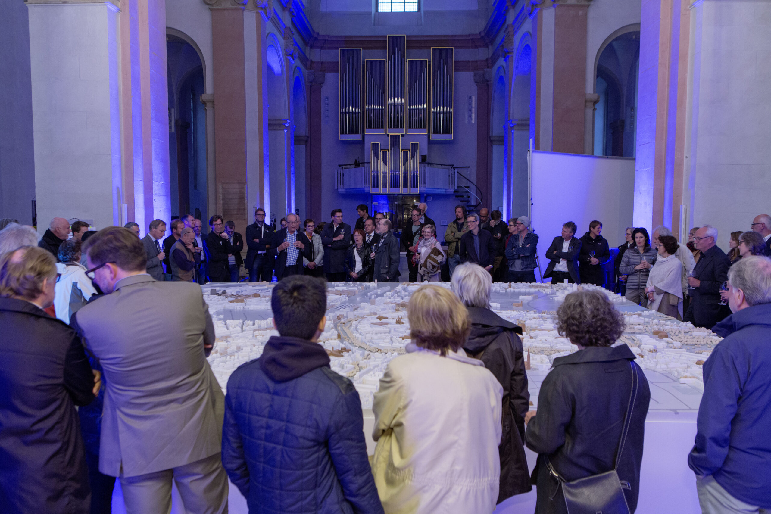 Münster Modell: Ausstellung Nr. 20 - Dominikanerkirche, 2016 - Foto: Roland Borgmann