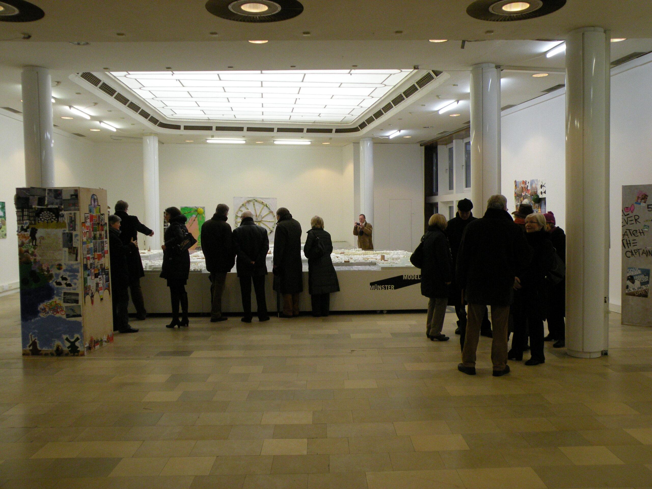 Münster Modell: Ausstellung Nr. 11 - Stadthaussaal, 2011