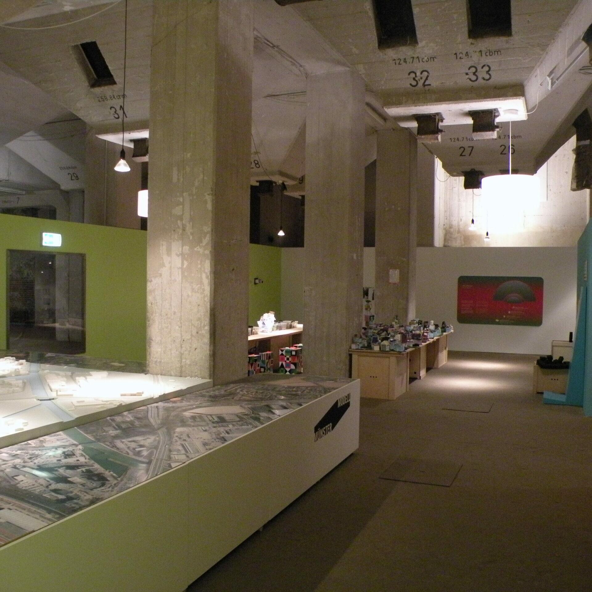 Münster Modell: Ausstellung Nr. 13 - Flechtheim-Speicher, 2012