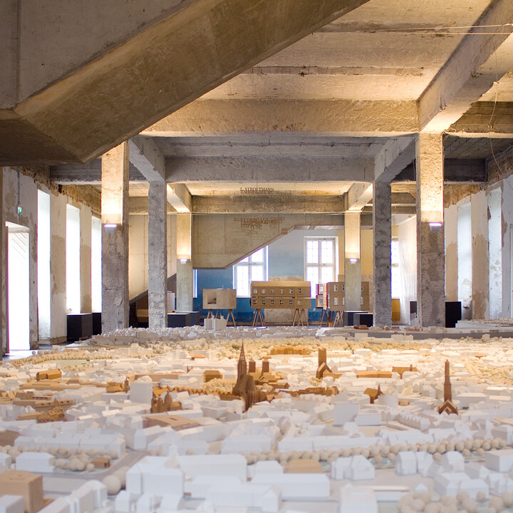 Münster Modell: Ausstellung Nr. 15 - Geomuseum, 2013 - Foto: DBCO