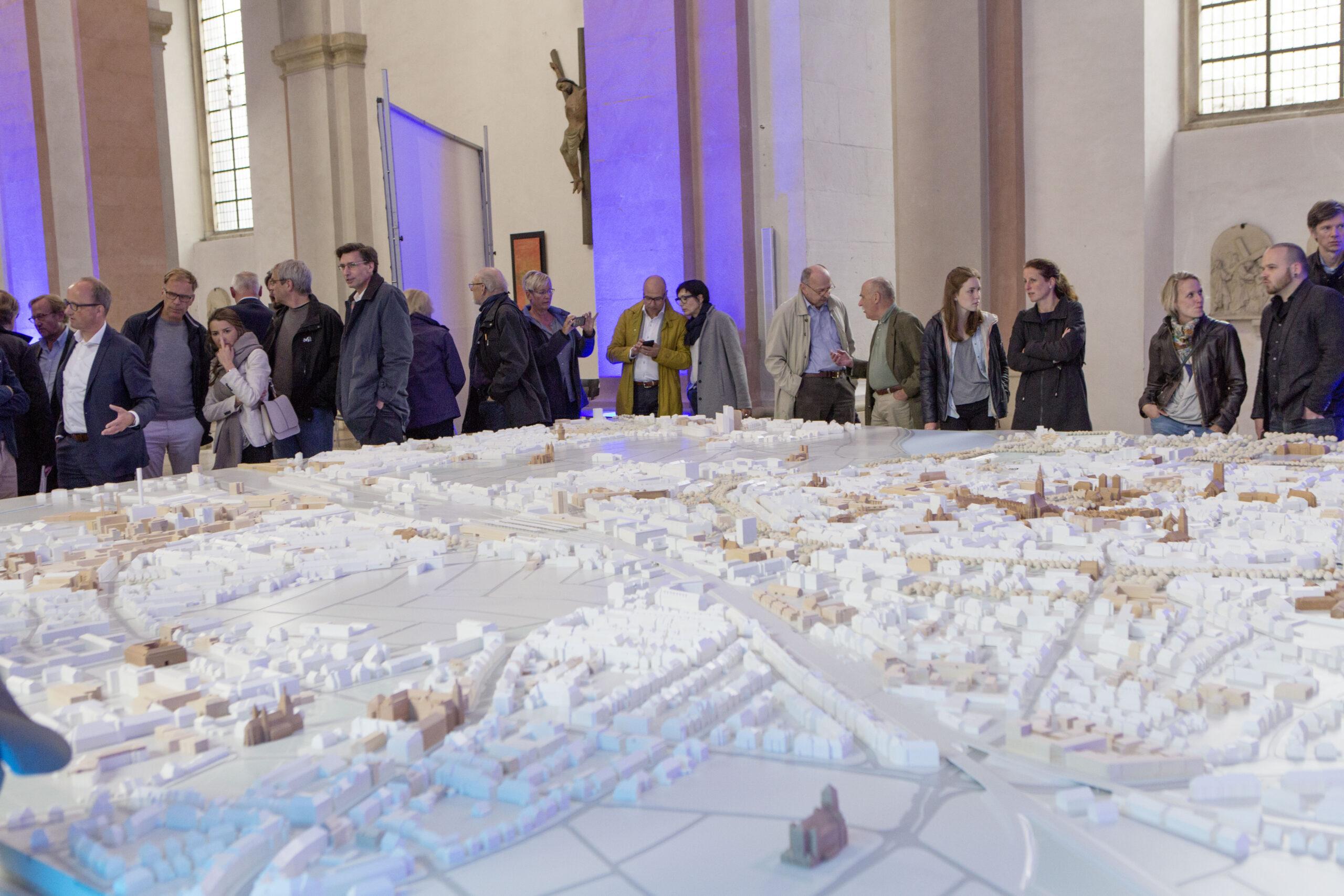 Münster Modell: Jubiläum 2016 - Dominikanerkirche Münster - Foto: Roland Borgmann