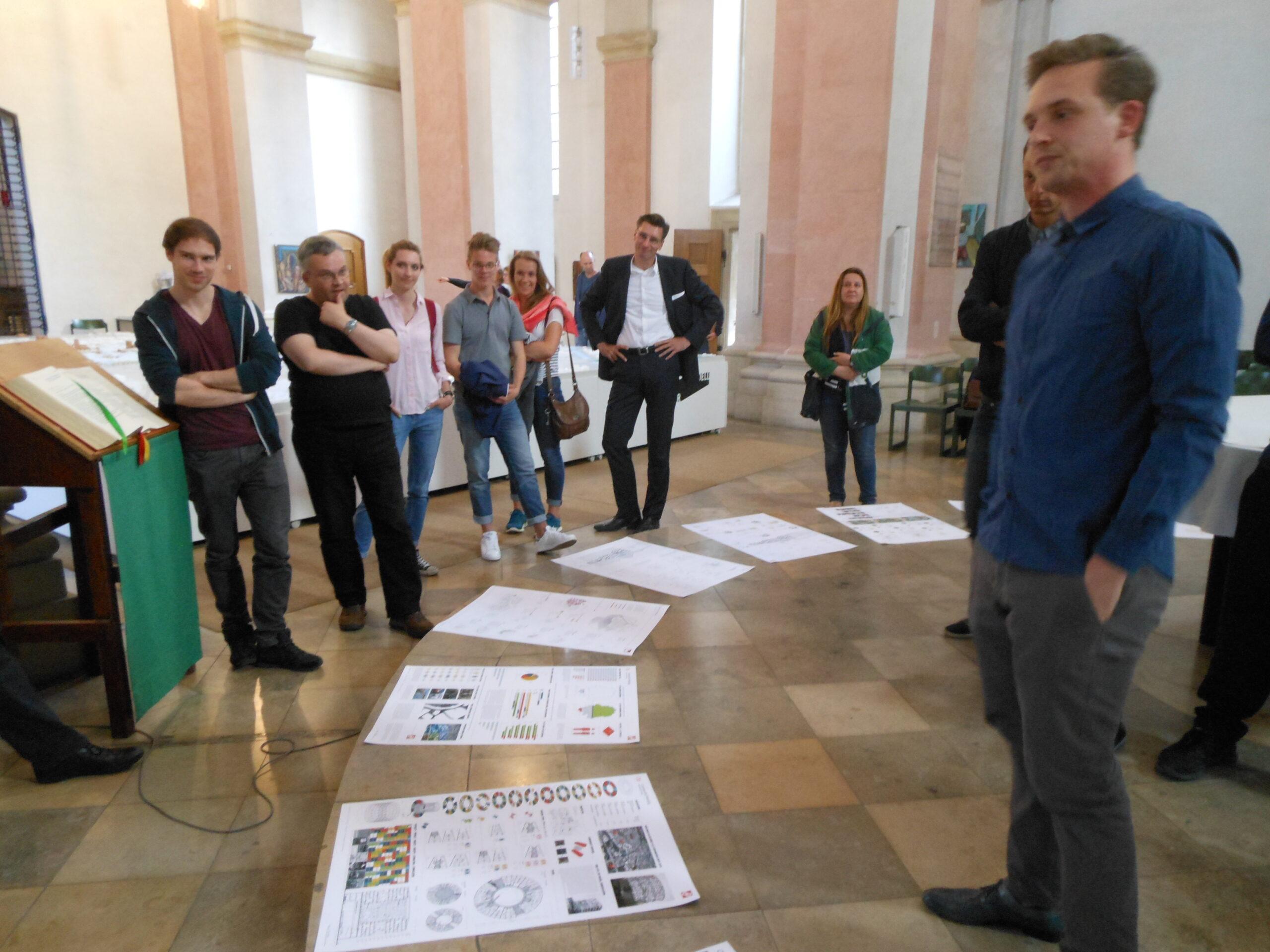 Reconstructing Urbanity - MSA-Präsentation 2016 Dominikanerkirche Münster - Foto: Stefan Rethfeld