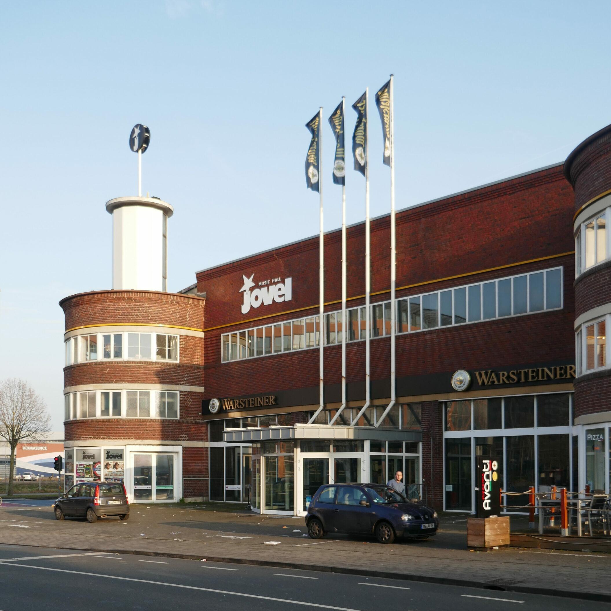 Stromlinien im Stadtraum: Werkstattgebäude Kiffe (1927-29) von Johannes Nellissen, seit 2008 Jovel Music Hall - Foto: Stefan Rethfeld