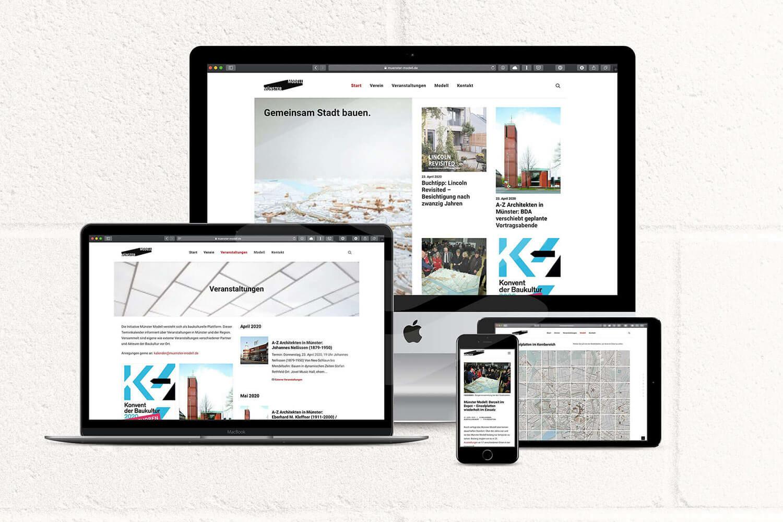 Münster Modell: Neue Website freigeschaltet