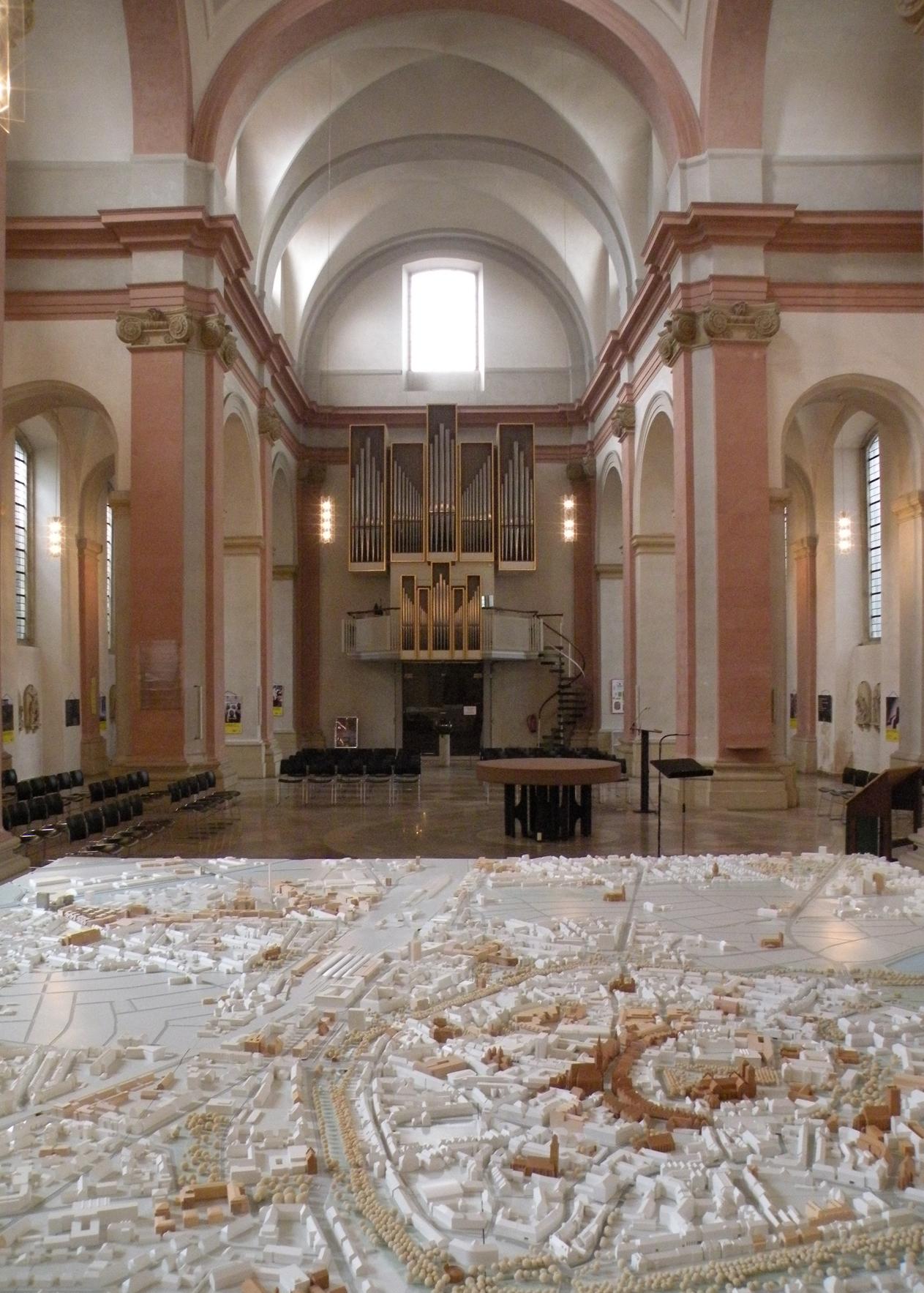 Münster Modell: Ausstellung Nr. 20 - Dominikanerkirche, 2016 - Foto: Stefan Rethfeld