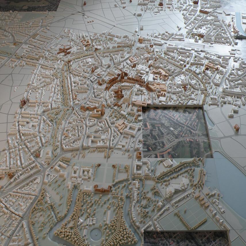 Münster Modell: Ausstellung Nr. 12 - Collegium Marianum, 2011 - Foto: Stefan Rethfeld