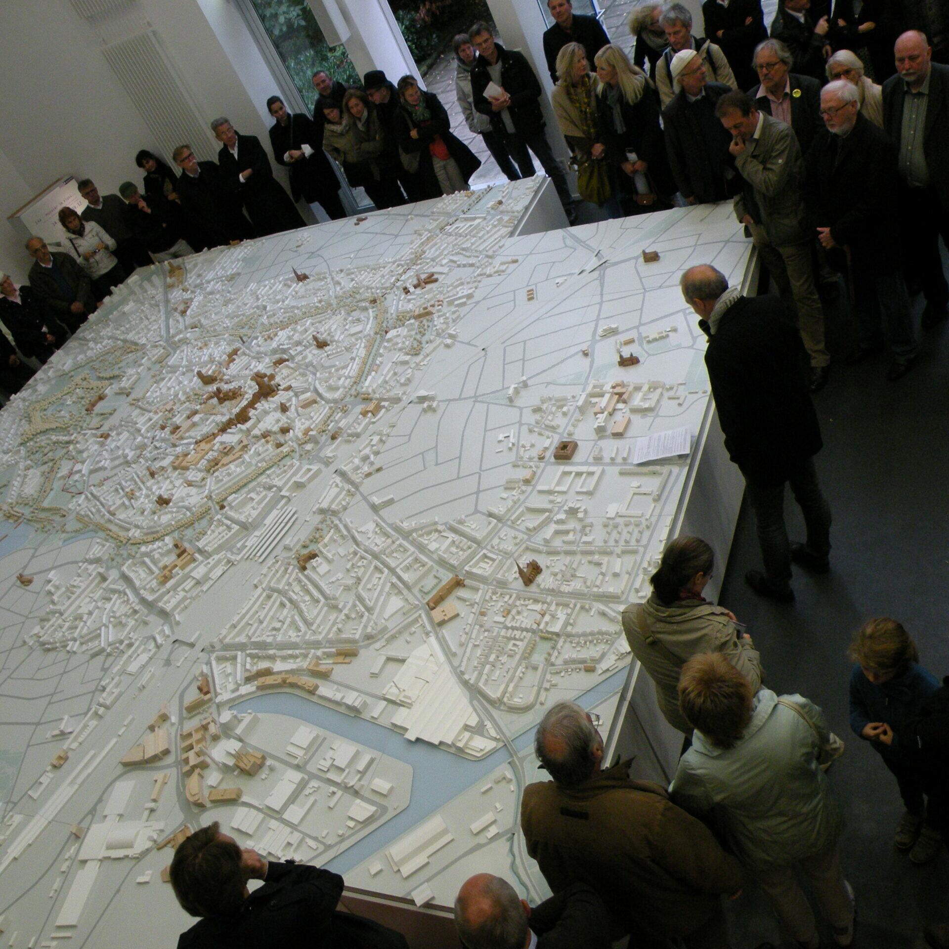 Münster Modell: Ausstellung Nr. 14 - Collegium Marianum, 2012