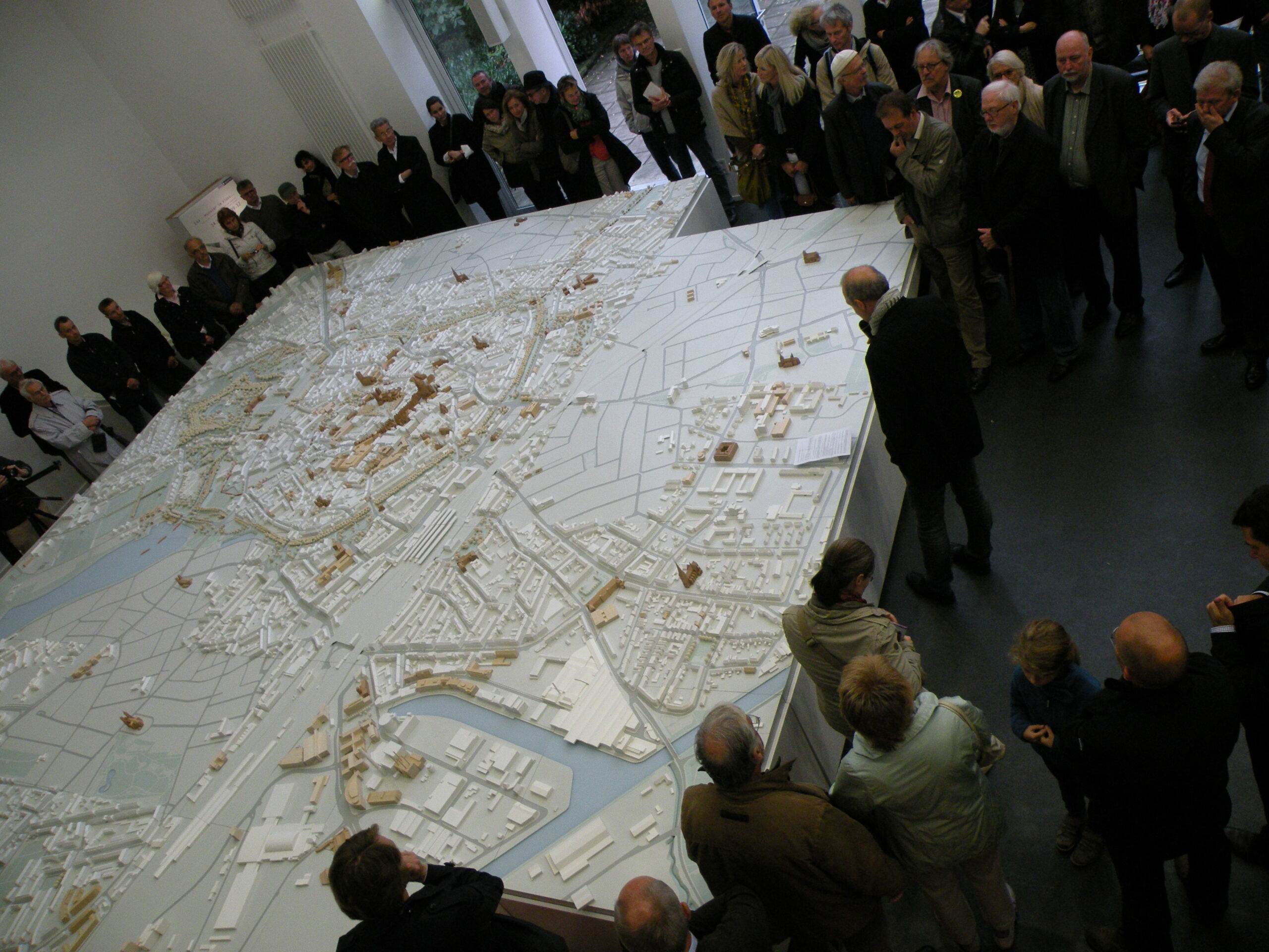 Münster Modell: Ausstellung Nr. 14 - Collegium Marianum, 2012 - Foto: Wilhelm Walterscheid