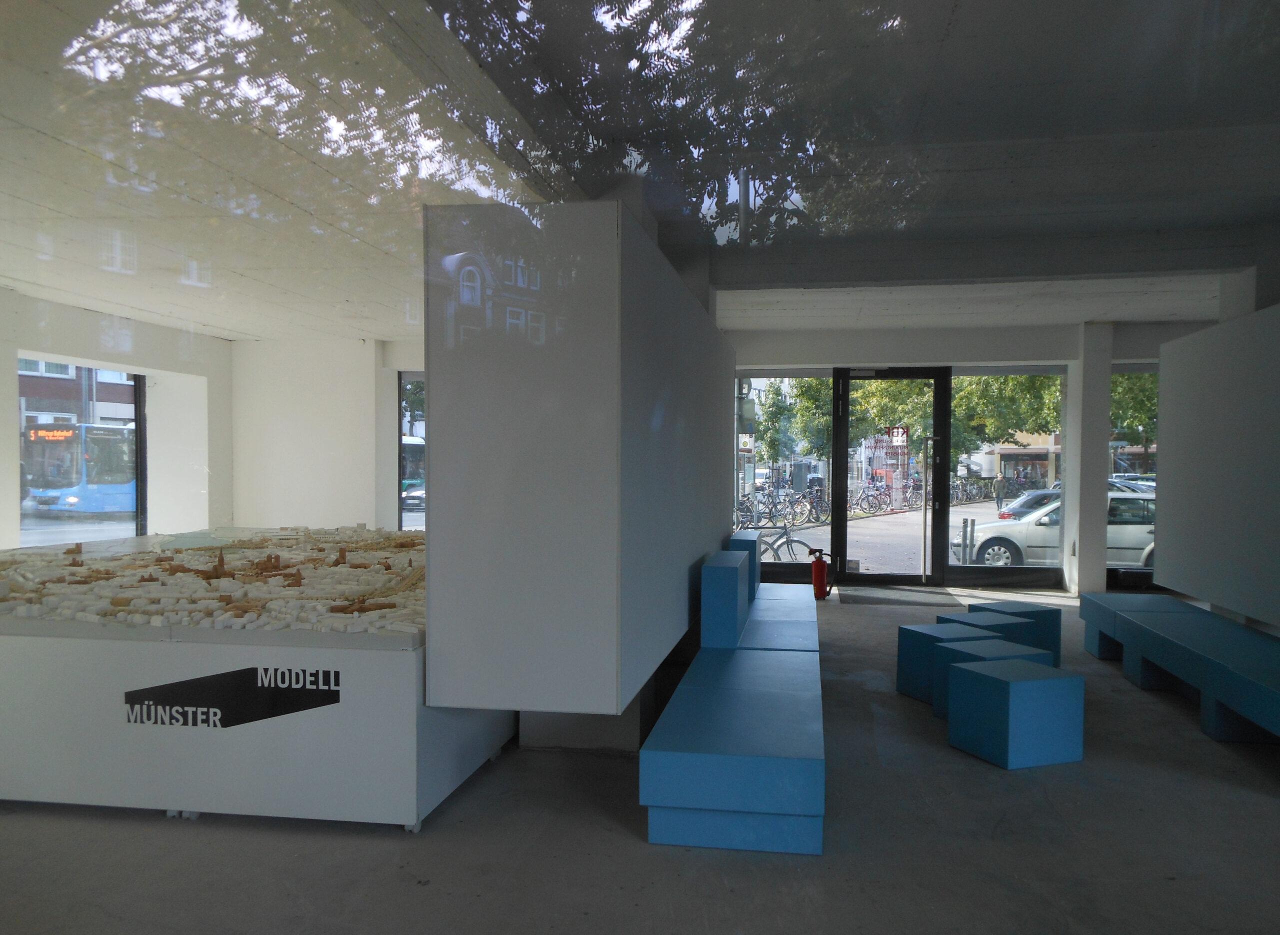 Münster Modell: Ausstellung Nr. 23 - Hochhaus am Bült, 2018 - Foto: Stefan Rethfeld