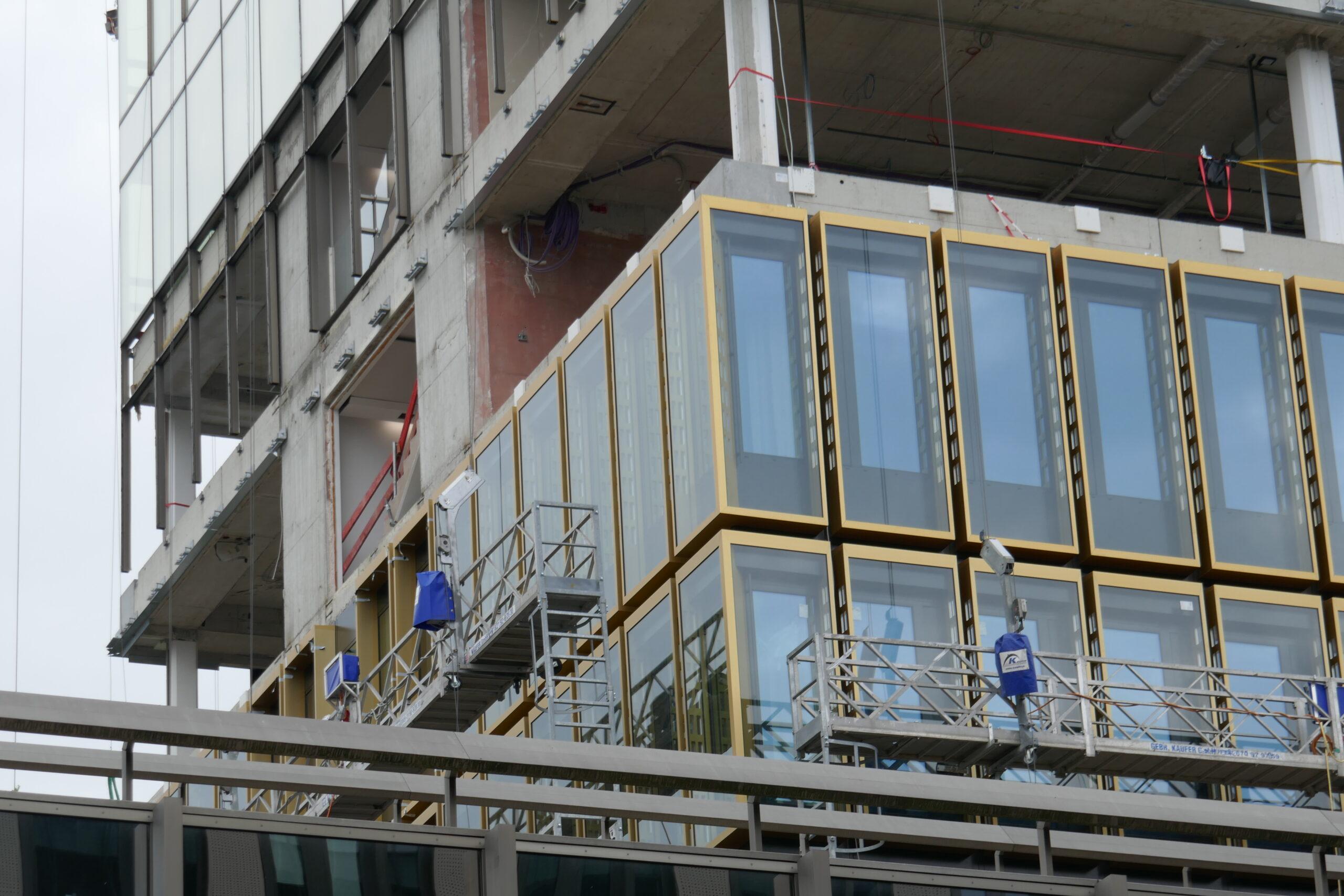 Neue Fassade: DZ Hyp AG Bank Münster - Foto: Stefan Rethfeld