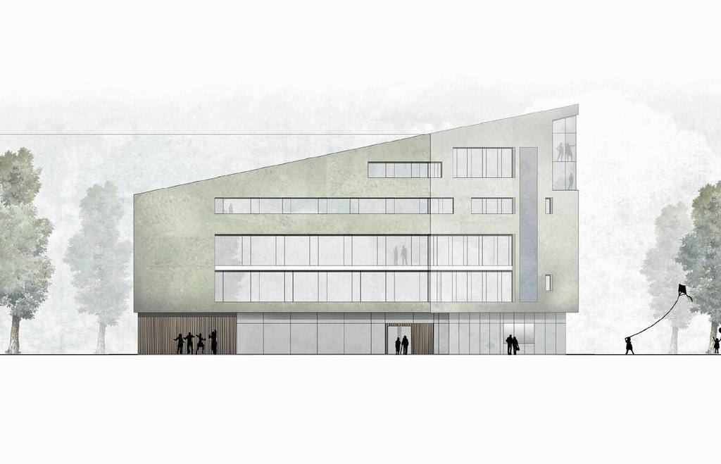 WDR-Neubau Münster - Entwurf: UWA-Weidemann Architekten (Münster)