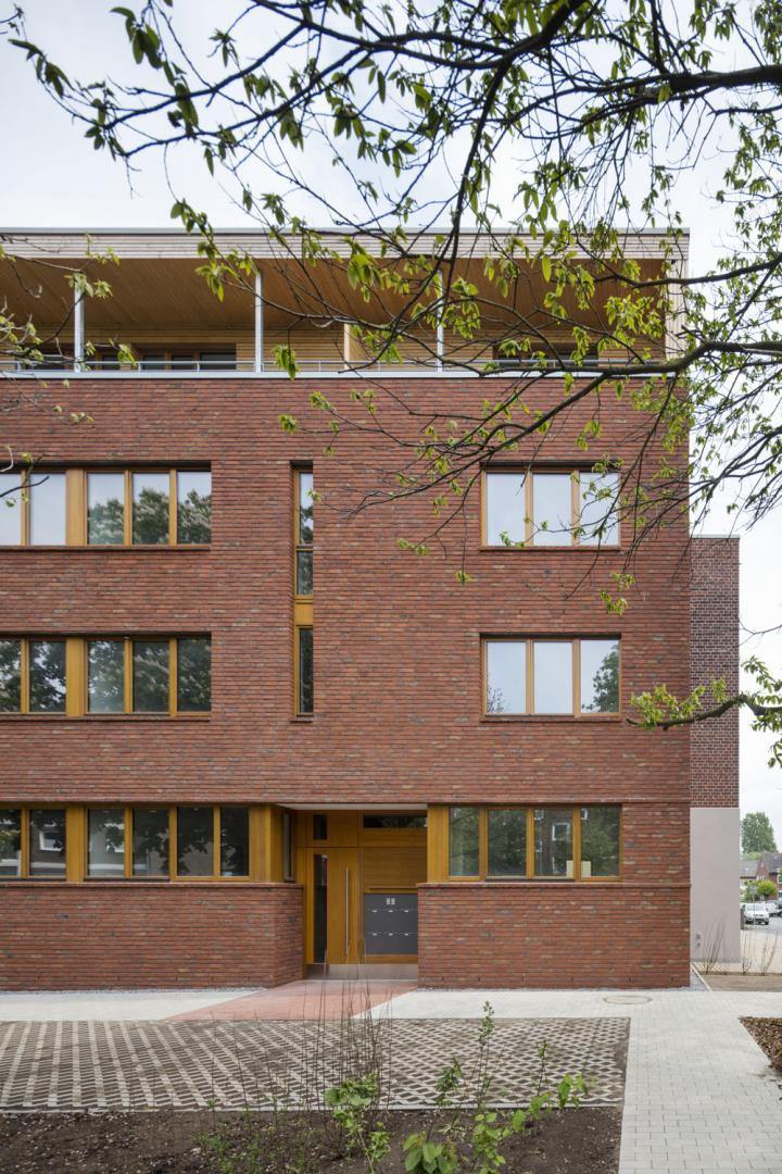 Wohnhaus Schifffahrter Damm, Münster - Architekt: Reinhard Martin Architekt BDA, Münster - Foto: Jens Kirchner