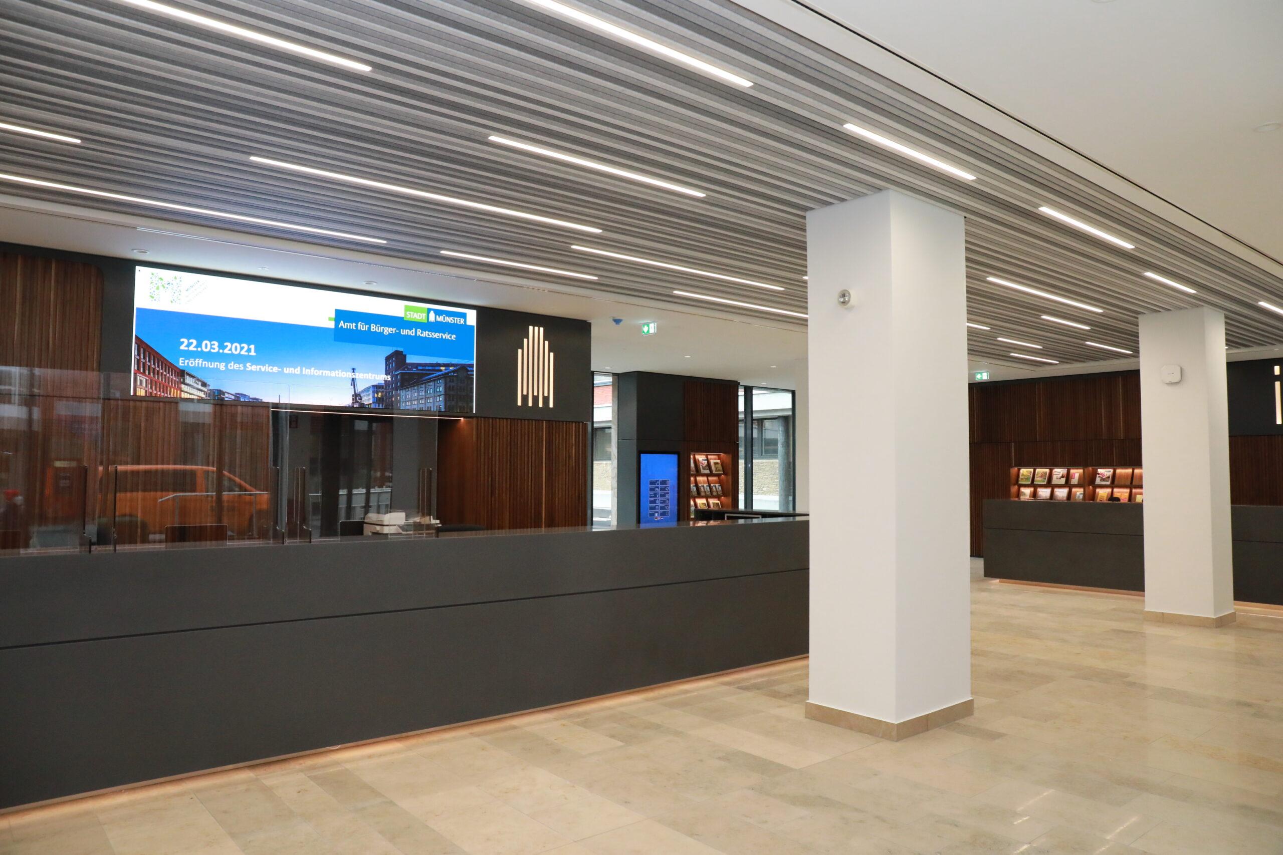 Stadthaus I: neues Servicezentrum in Münster - Foto: Stadt Münster