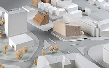 Urbaner Ort / WDR Münster - Entwurf: UWA, Ulli Weidemann, Münster (1. Preis)
