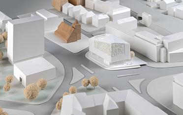 Urbaner Ort / WDR Münster - Entwurf: dreibund architekten, Bochum (2. Preis)