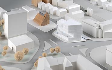 Urbaner Ort / WDR Münster - Entwurf: stm°architekten, Nürnberg (Anerkennung)