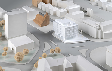 Urbaner Ort / WDR Münster - Entwurf: Staab Architekten, Berlin (2. Rundgang)