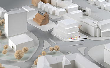 Urbaner Ort / WDR Münster - Entwurf: Hascher Jehle Design, Berlin (2. Rundgang)