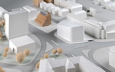 Urbaner Ort / WDR Münster - Entwurf: LOVE architecture and urbanism, Graz (2. Rundgang)
