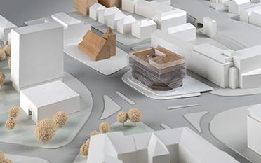 Urbaner Ort / WDR Münster - Entwurf: IOX Architekten, Berlin (2. Rundgang)