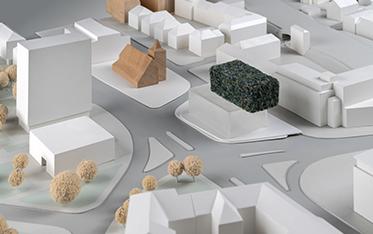 Urbaner Ort / WDR Münster - Entwurf: BOCK NEUHAUS PARTNER, Coesfeld (1. Rundgang)