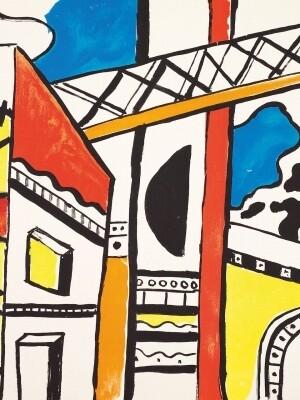 Foto: Fernand Léger, La Ville, 1959, Farblithografie © VG Bild-Kunst, Bonn 2021
