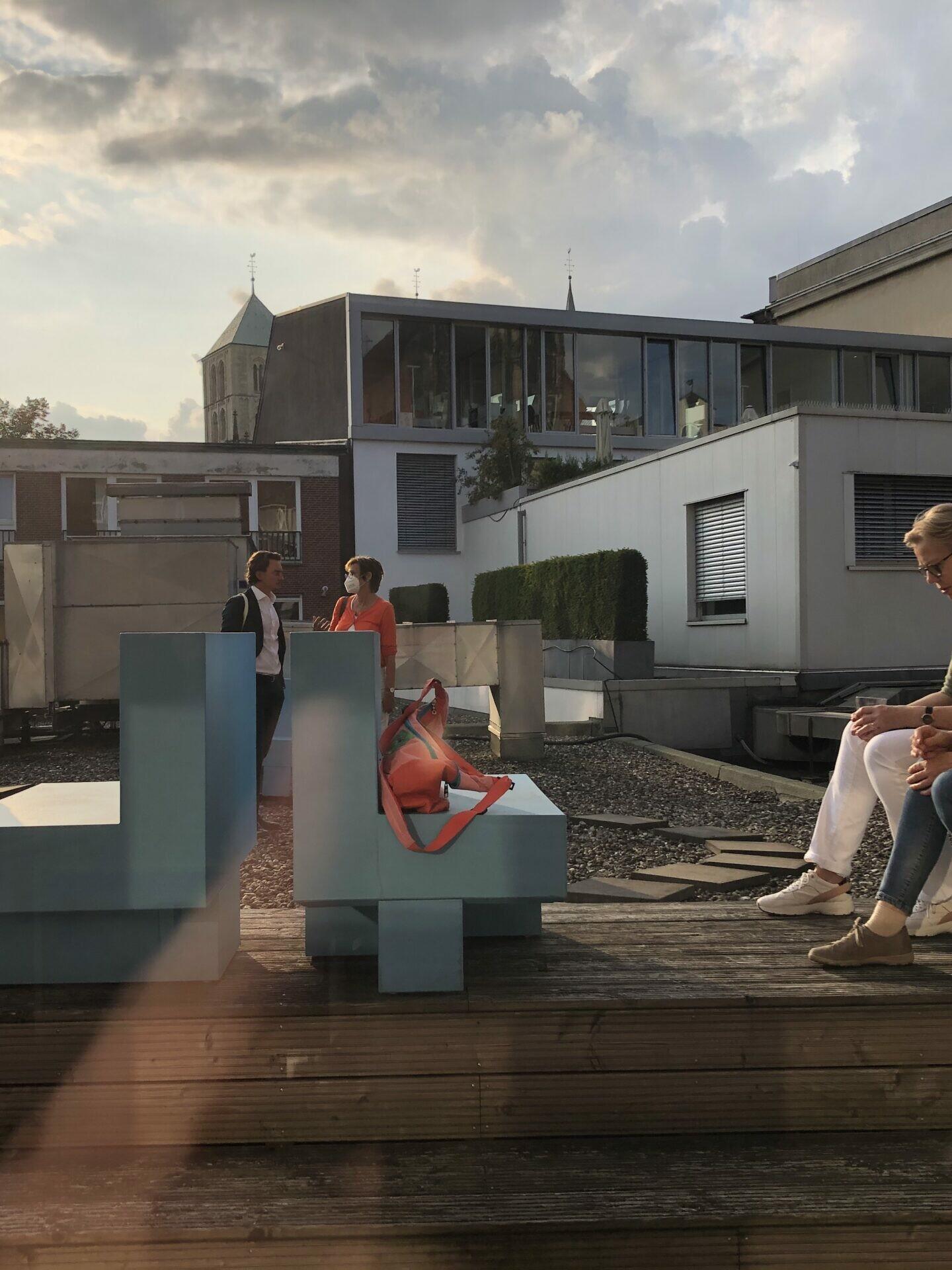 Gespräche über die Stadt: Münster Modell-Rundgang zu verschiedenen Höfen in der Altstadt - Foto: Stefan Rethfeld